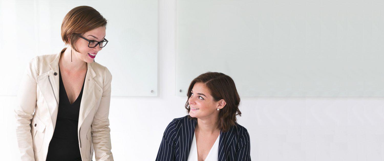 XUNDWORKEN Home - Arbeiten mit mehr Gesundheit - Frauen geniessen die gute Kommunikation
